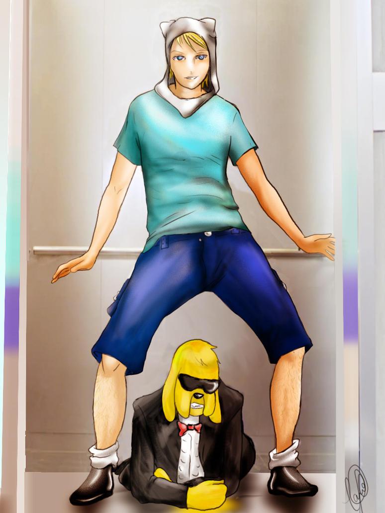 Finn And Jake Style! by KrolKushi