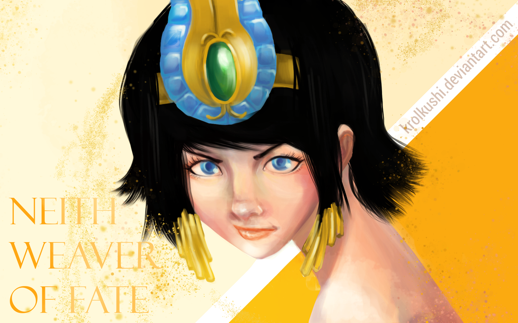 Neith: Weaver of Fate by KrolKushi