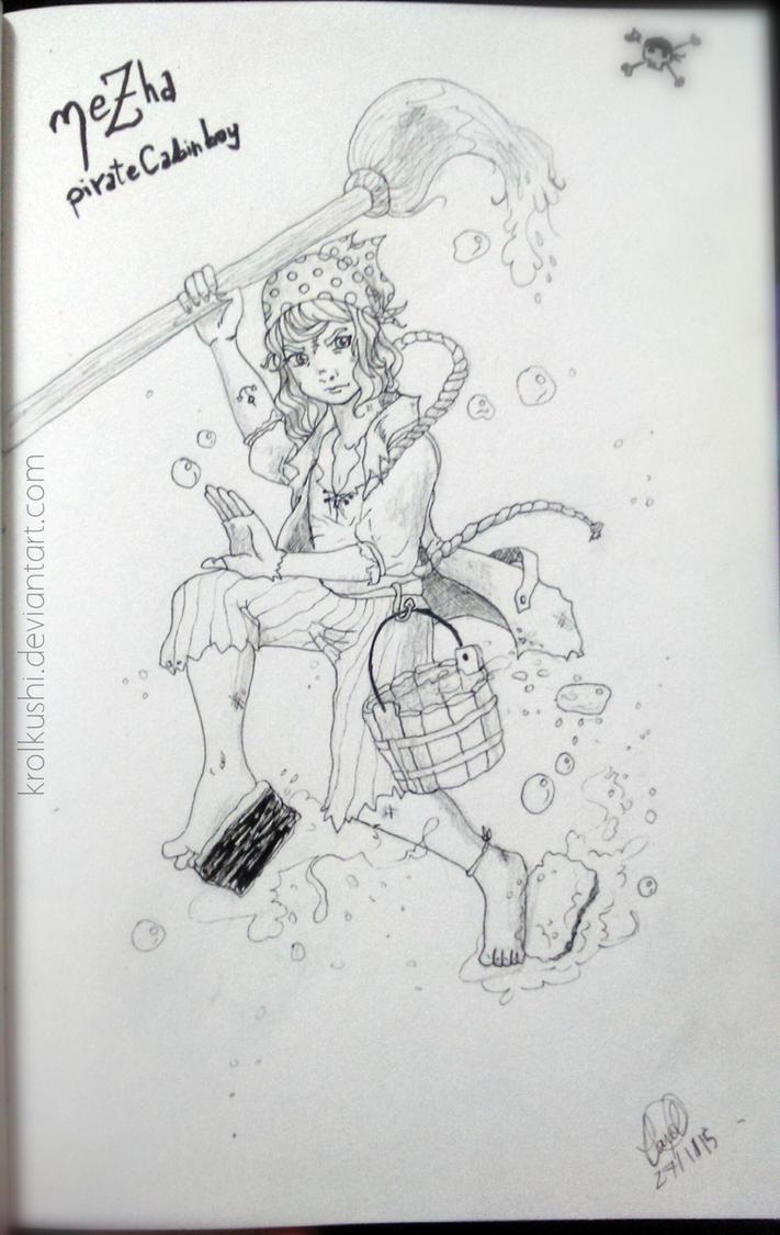 NeZha: Pirate Cabin Boy by KrolKushi