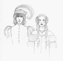 Amadeo and Bianca by Annathelle26