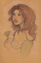 House Tyrell Portraits - Margaery by Annathelle26