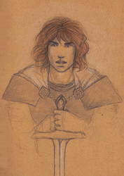House Tyrell Portraits - Loras by Annathelle26
