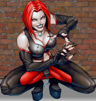 Bloodrayne reday to kill by EvilGringo