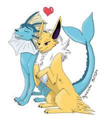 Zakochane pokemony