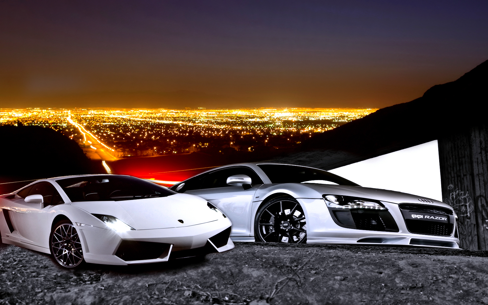 Audi And Lamborghini By Allenandtady On Deviantart