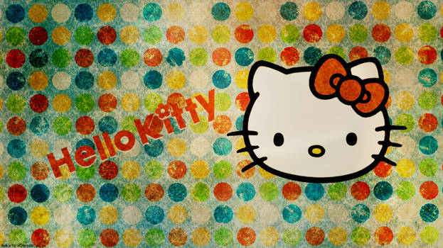 Hello Kitty Wallpaper 1366 x 768