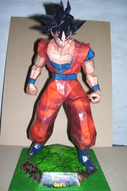 Goku Papercraft by Neolxs