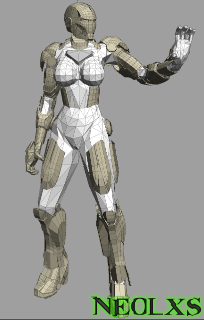 IronBabe 0001 by Neolxs