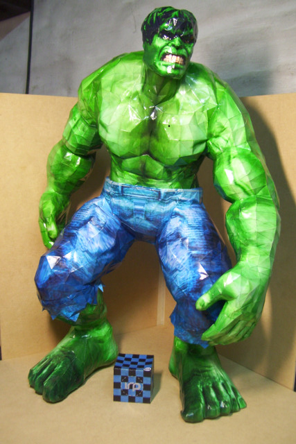 Hulk Papercraft 1 by Neolxs