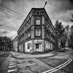 Corner house by RafalBigda