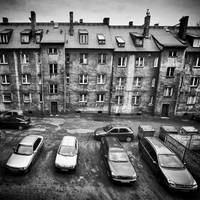 Roofs and cars by RafalBigda