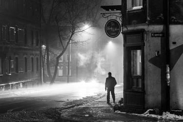 Night city walk by RafalBigda