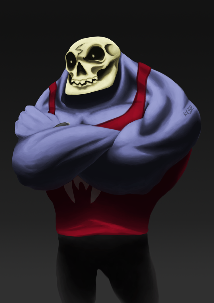 Skull Fanart(Updated) by LT-metamorphose-LT