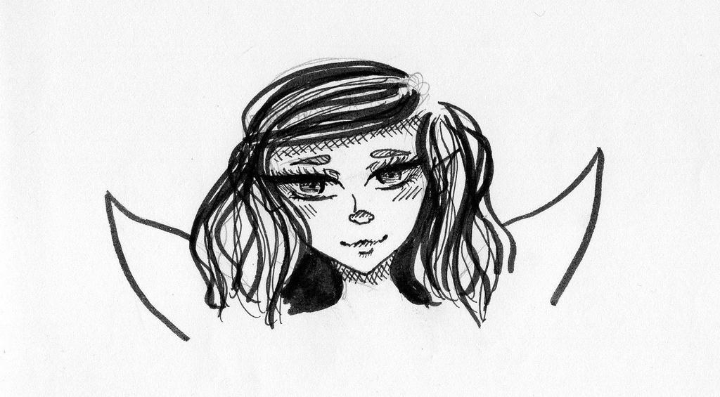 A fairy? by miretoujou