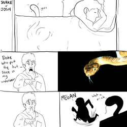 Snake and Josh - 1 by GymLeaderJoe