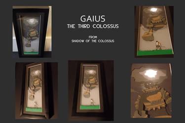 Gaius, The Third Colussus - shadowbox