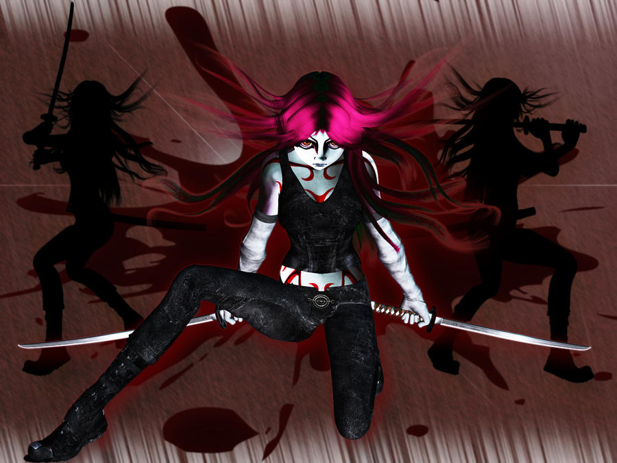 Anime Wallpaper 2 by graphicpoetry