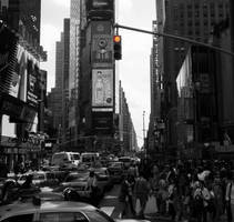 STOP. Times SQ. by DanielJButler