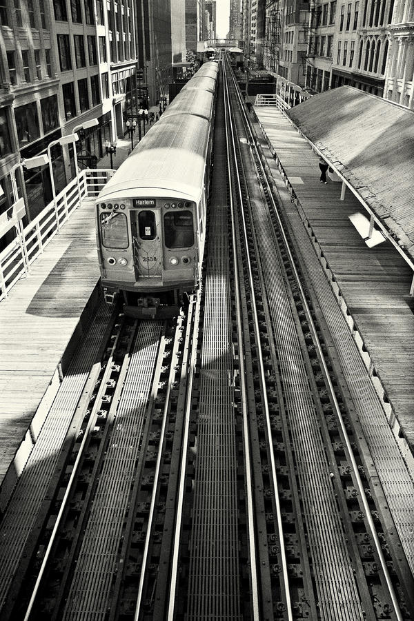 Chicago L VIII by DanielJButler