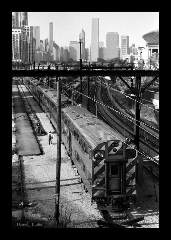 Chicago Metra VIII by DanielJButler