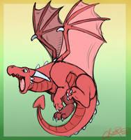 Dragon #5: Zashisuru by CReePerDawnfall