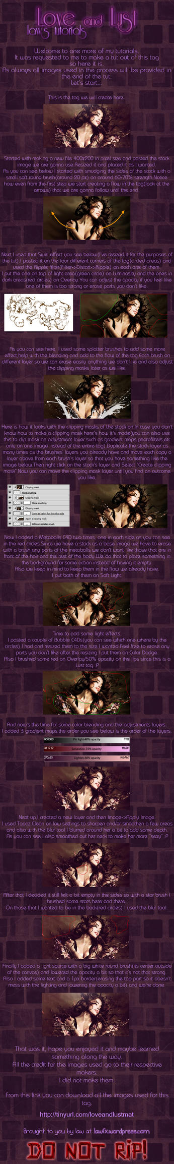 Love and lust tutorial by lawfx