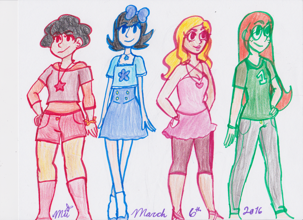 The Crew Rules The School by cherrymeringue