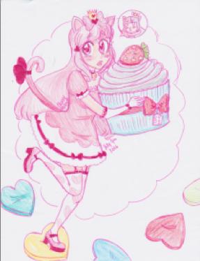 Happy Birthday Kittydere by cherrymeringue