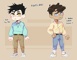 Fashion Boys Adopts //CLOSED// by TheWildWolfy