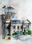 Berlin in watercolour by evie9207