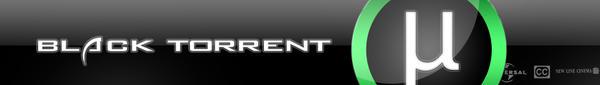 Black Torrent Header by ErikAlpar