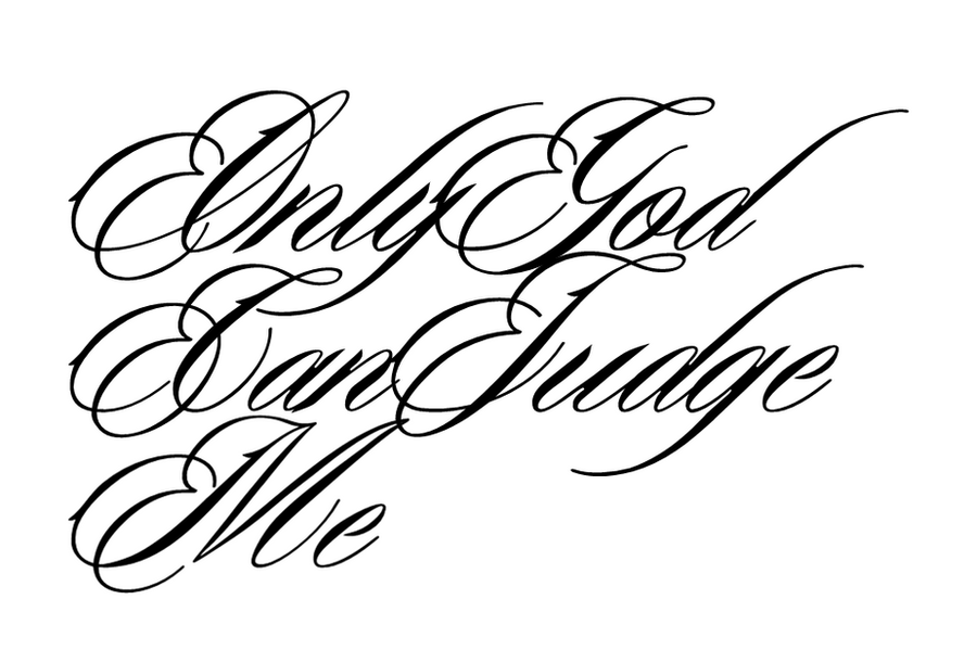 Only God Can Judge Me Drawings