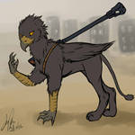 Ashred the griffin