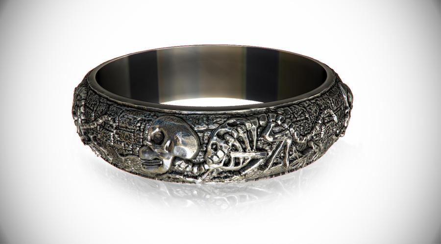 Death Metal Ring by Homagium