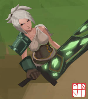 Riven painting practice