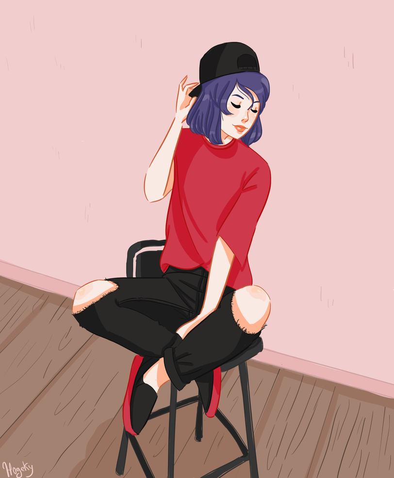Marinette in stye by Hogekys