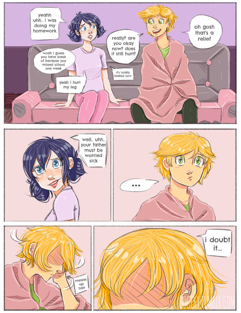 Unreceived PAGE 49 ( miraculous ladybug ) by Hogekys on