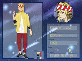 UP - Fiche personnage : Adam by Be-ber