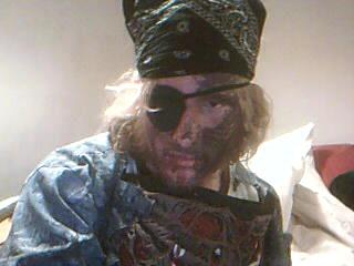 Zombie Pirate Me by soulkinda