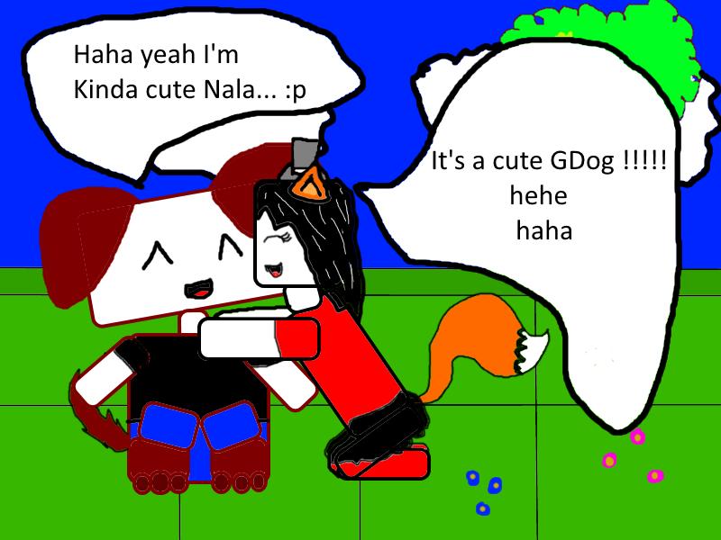 Gdog and me XD by soulkinda
