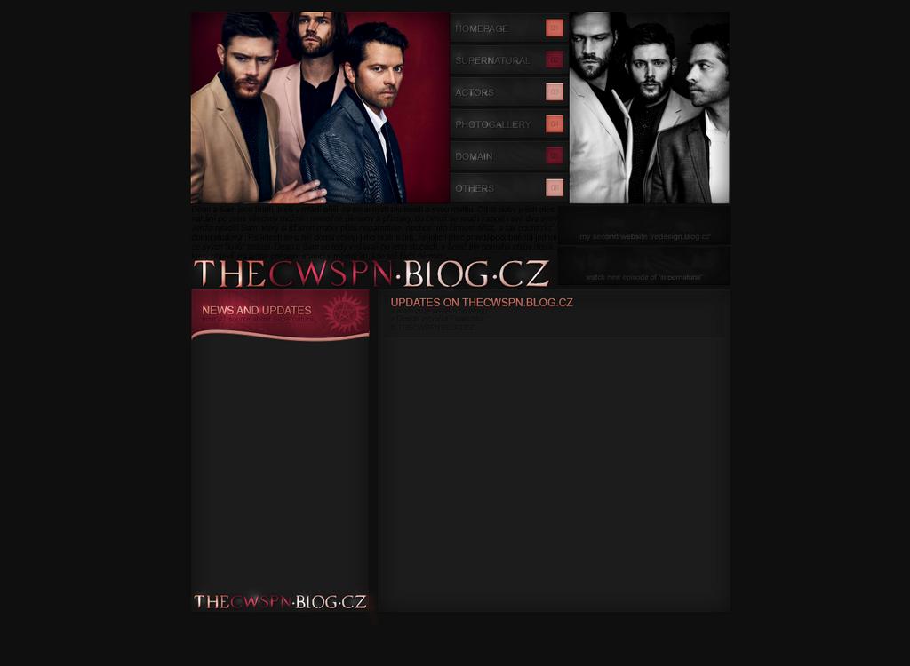 Design for thecwspn.blog.cz by FlowerskaHoneyLand