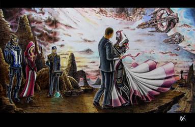 wedding on Rannoch by ClarkVador