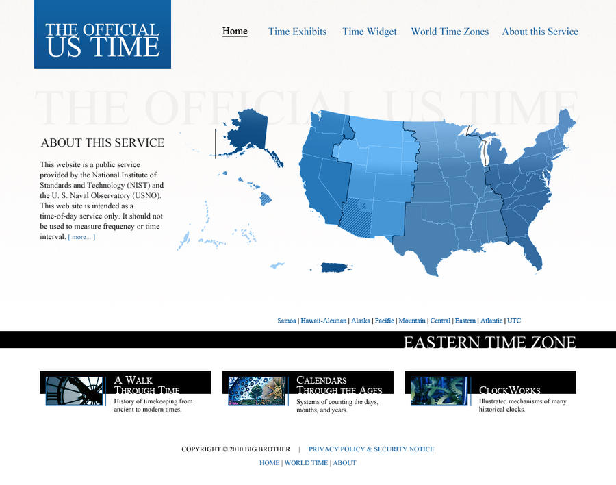Time.gov by Mavarius