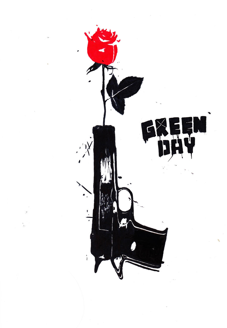One 21 Guns By Lacernellarubra Fan Art Traditional Drawings Other