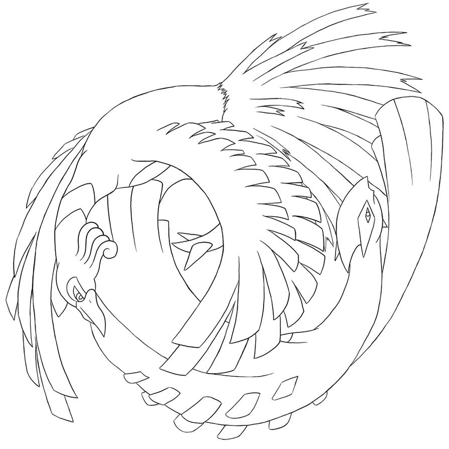 Lugia coloring pages