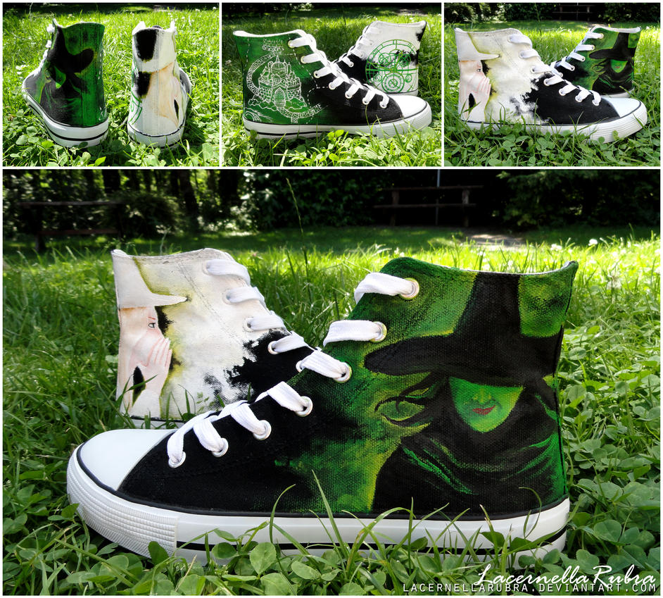 Wicked Shoes by LacernellaRubra