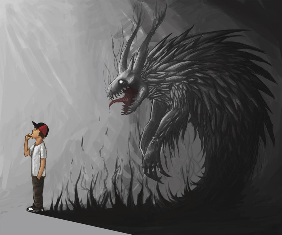 Shadow fiend (friend?) by Raivic on DeviantArt