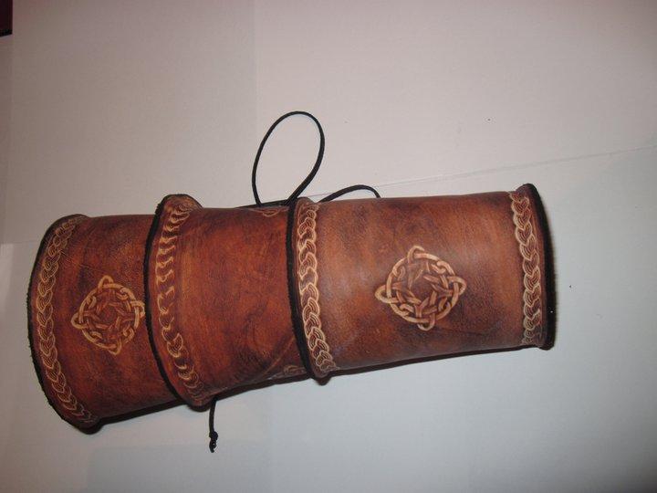 Celtic bracer by akinra-workshop