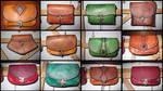 Belt bag series by akinra-workshop