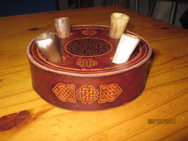 Horn brandy set by akinra-workshop